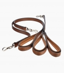 Guibert Paris - Atherstone dog leash in Barenia leather