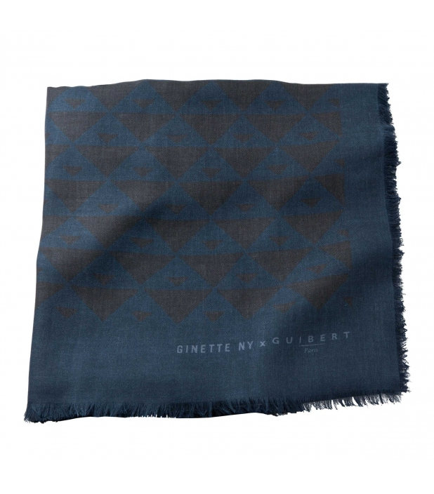 Guibert Paris - Quarter marker blue and black scarf