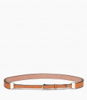 Breastplate collar belt vegetable leather, gold
