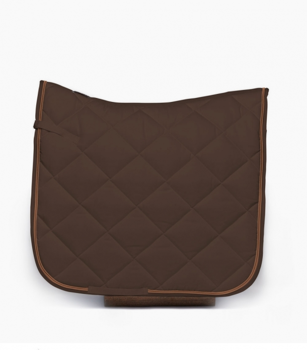 Guibert dressage saddle pad dark brown
