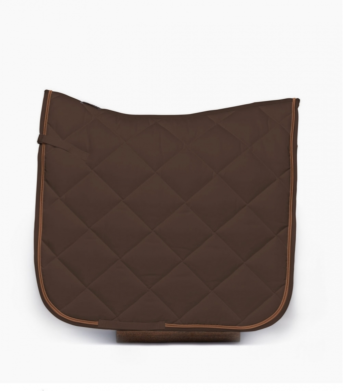 Guibert dressage saddle pad dark brown