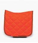 Guibert dressage saddle pad orange