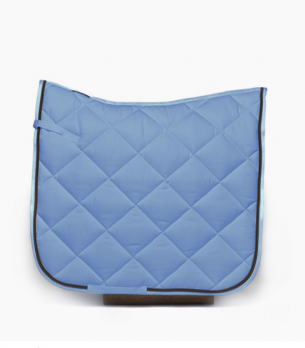 Guibert dressage saddle pad light blue