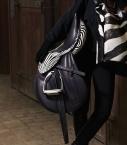 Guibert Paris - Selle en cuir sur mesure zebrino