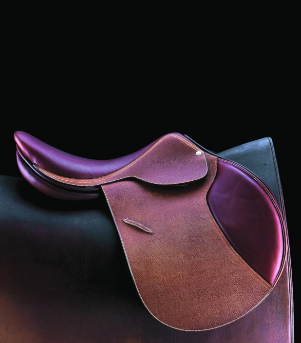 Guibert AP leather saddle