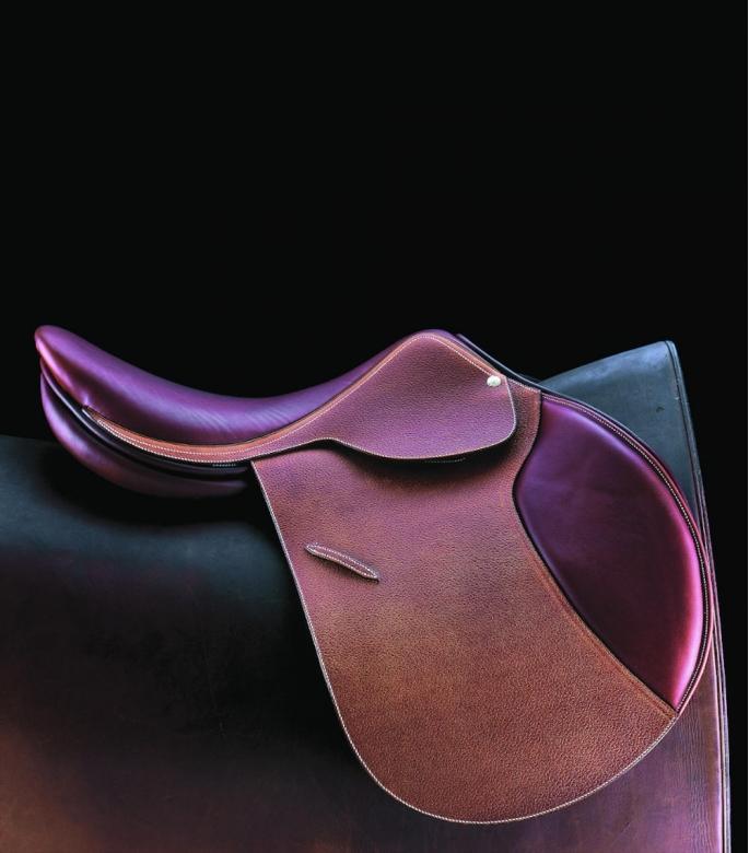 Guibert AP leather saddle