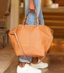 Grooming bag taurillon Pessoa, camel