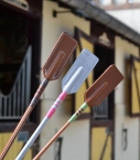Guibert paris - cravache en cuir naturel Barenia cuir lisse