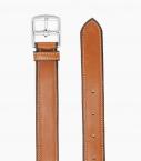 Guibert Paris ceinture étrivière cuir Barenia boucle et point sellier