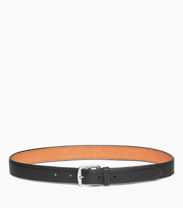 Guibert Paris stirrup buckle belt in barenia leather