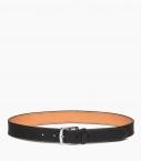Stirrup buckle belt 35 mm Barenia, black
