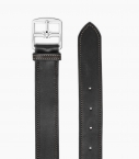 Stirrup buckle belt 35 mm Barenia, black