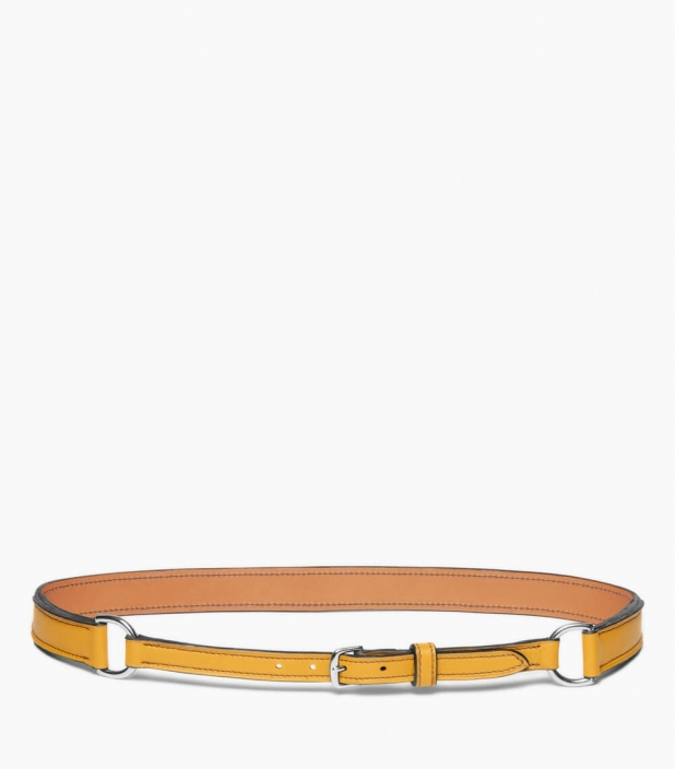 Breastplate collar belt taurillon, straw