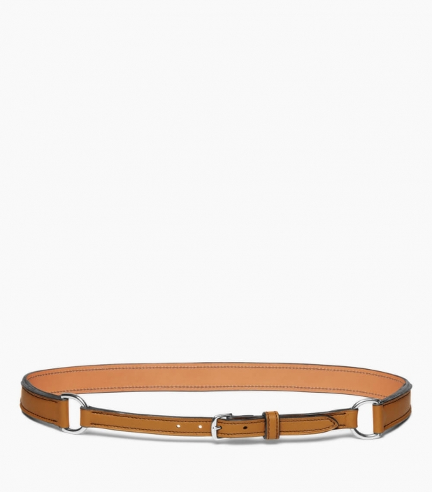 Breastplate collar belt taurillon, camel