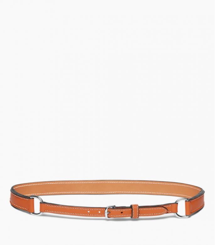 Breastplate collar belt taurillon, gold