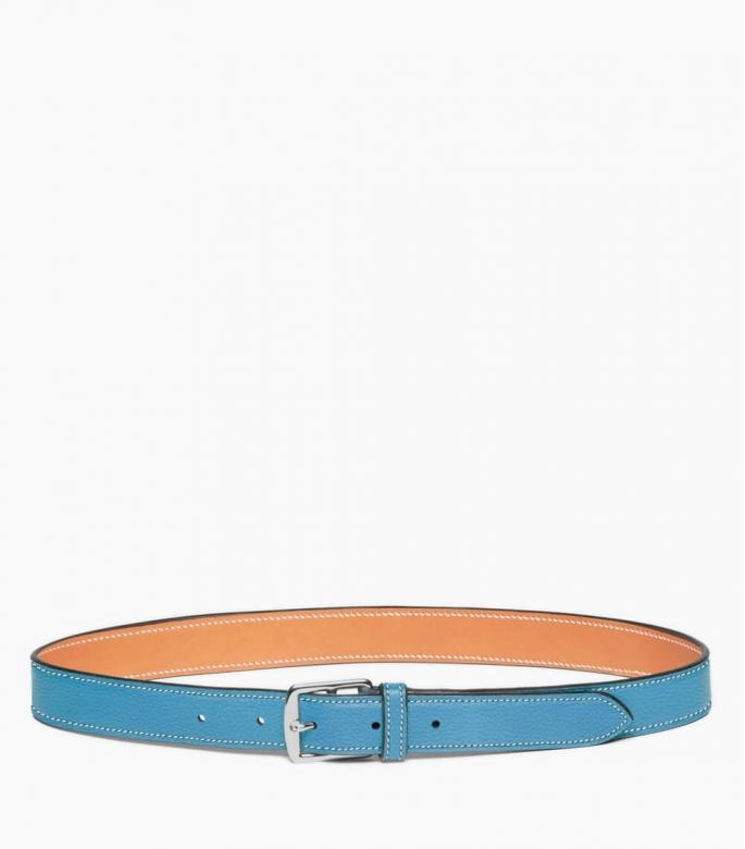 Stirrup buckle belt 30 mm taurillon, dragée