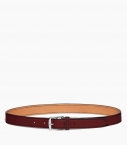 Stirrup buckle belt 30 mm taurillon, pauillac