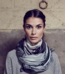 Guibert Paris - Modal and cashemere scarf, horse coat