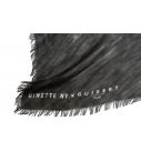 Guibert Paris - Écharpe en modal & cashemere imprimé robe de cheval
