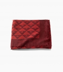 Modal and cashmere scarf, carbone 140x210