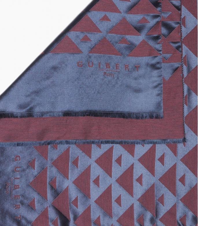 Silk & wool Quarter marker scarf