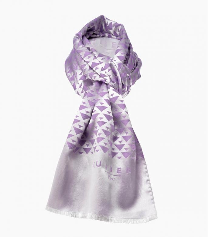 Quarter Marker red & burgundy scarf