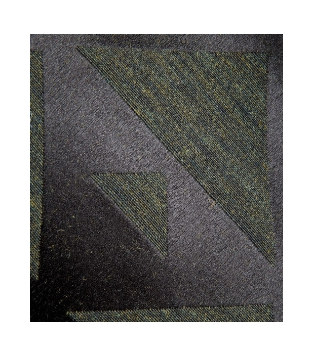 Silk & wool Quarter marker scarf, roan