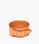Bracelet de force Taurillon, orange