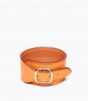 Taurillon Leather Bracelet, orange