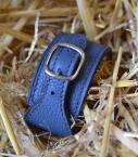 Guibert Bracelet Taurillon, peacock blue