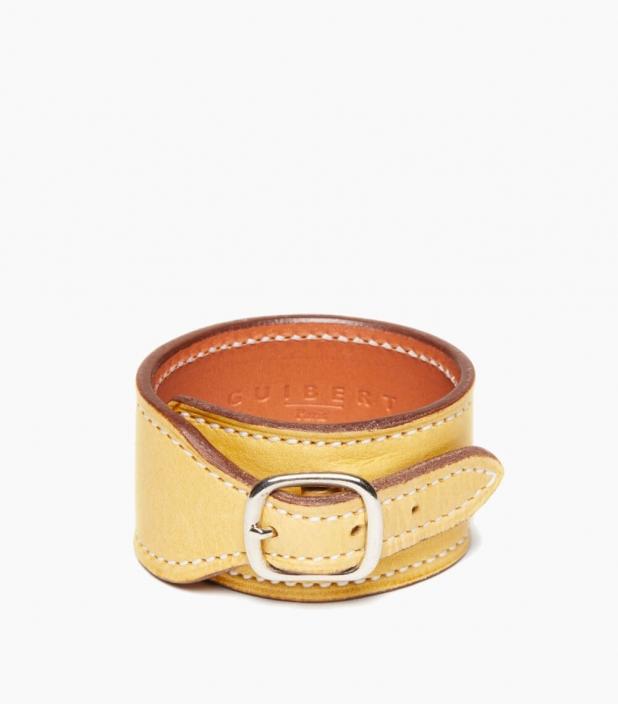 Bracelet de force Taurillon, paille