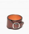 Cuff bracelet Barénia® Indiana, havana