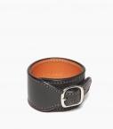 Cuff bracelet Barénia® Indiana, black