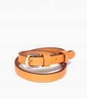 Bracelet sous Gorge taurillon, orange