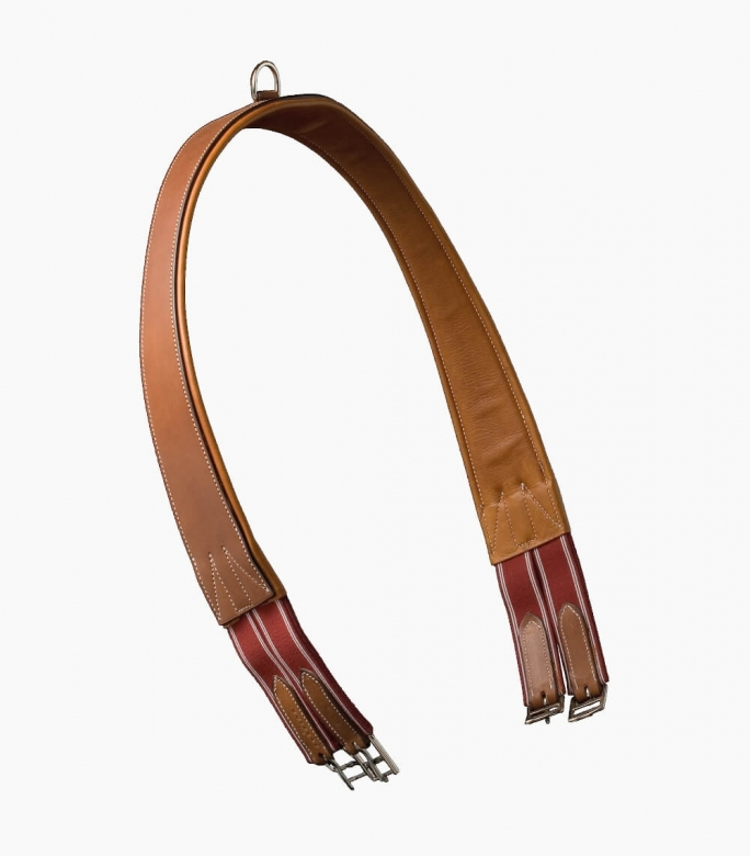 Guibert paris - Atherstone girth padded in calf skin leather