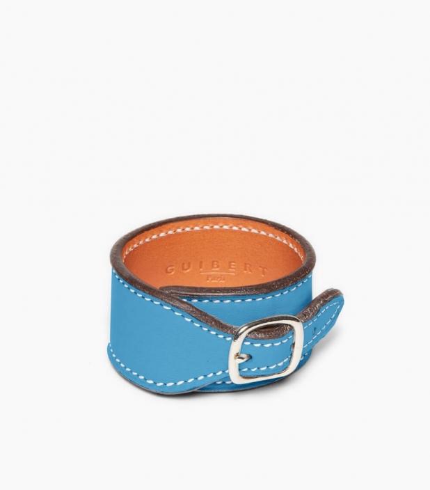Taurillon Leather Bracelet, dragée