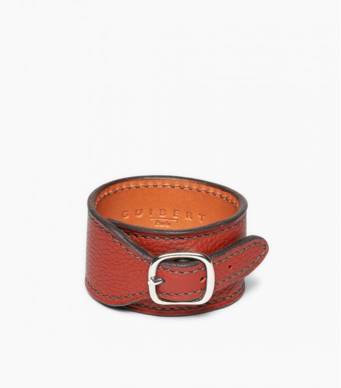 Taurillon Leather Bracelet, massaï