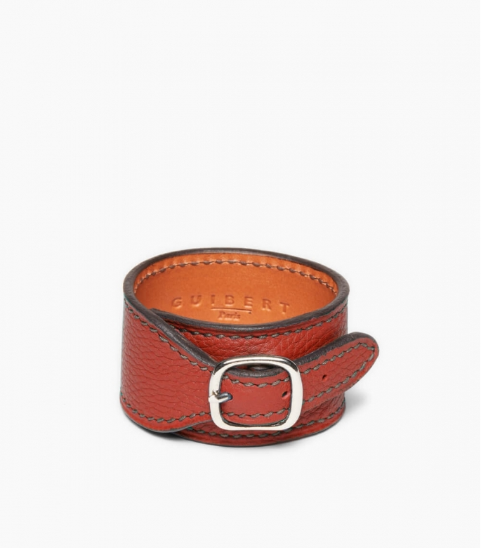 Taurillon Leather Bracelet, massaï