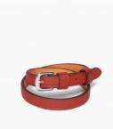 Throatlash bracelet Taurillon leather, massaï
