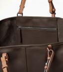 Grooming havana, Saddle Calf leather