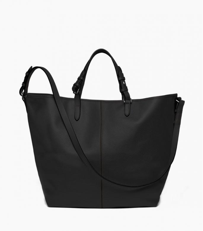 Grooming black, taurillon Pessoa leather