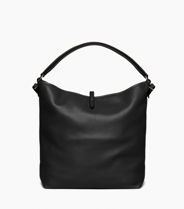 Pretty Grooming noir, Saddle Calf leather