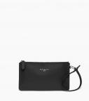 Clutch bag taurillon Pessoa, black