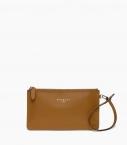 Clutch bag taurillon Pessoa, camel