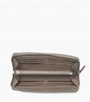 Pochette zippée 8c taurillon tourterelle