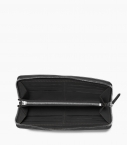 Zipped organizer 8c, black