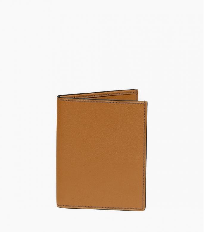 Guibert Paris Porte feuille cuir doublé 12 cartes
