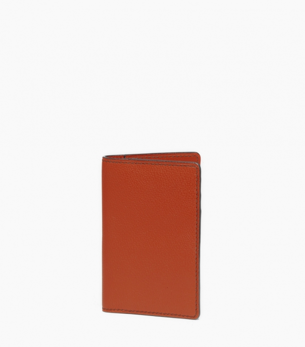Slim wallet taurillon, massaï