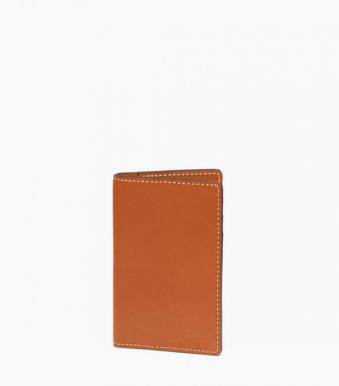 Slim wallet Barénia, gold
