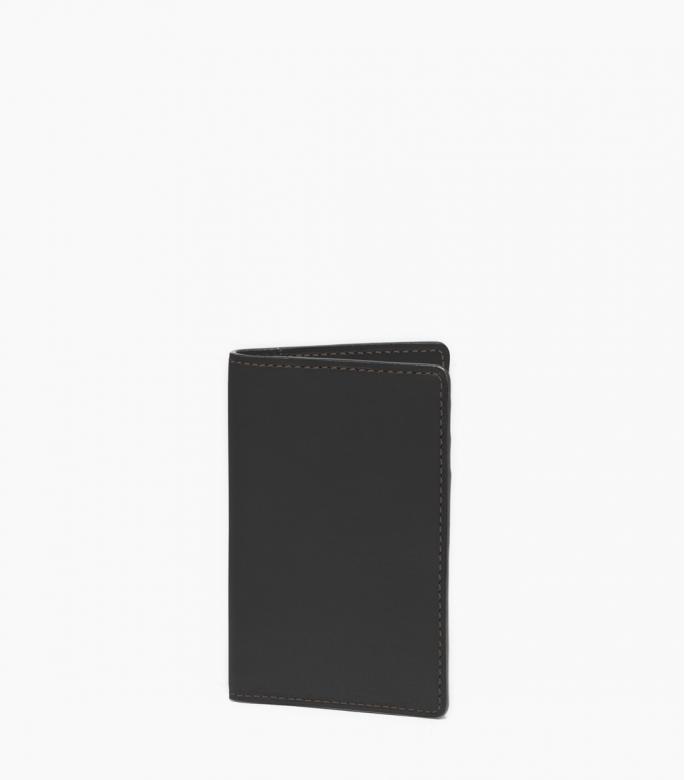 Porte feuille slim Barenia, noir
